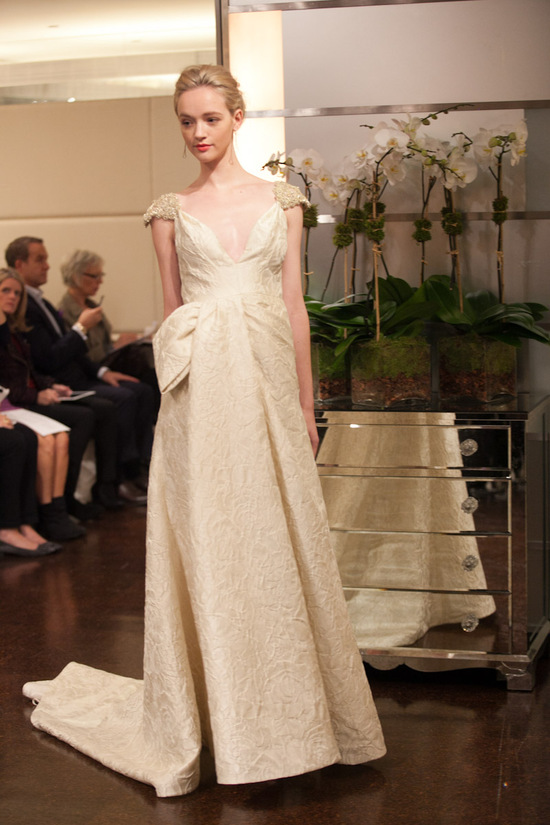 Fall 2013 wedding dress Badgley Mischka bridal gowns Ariel