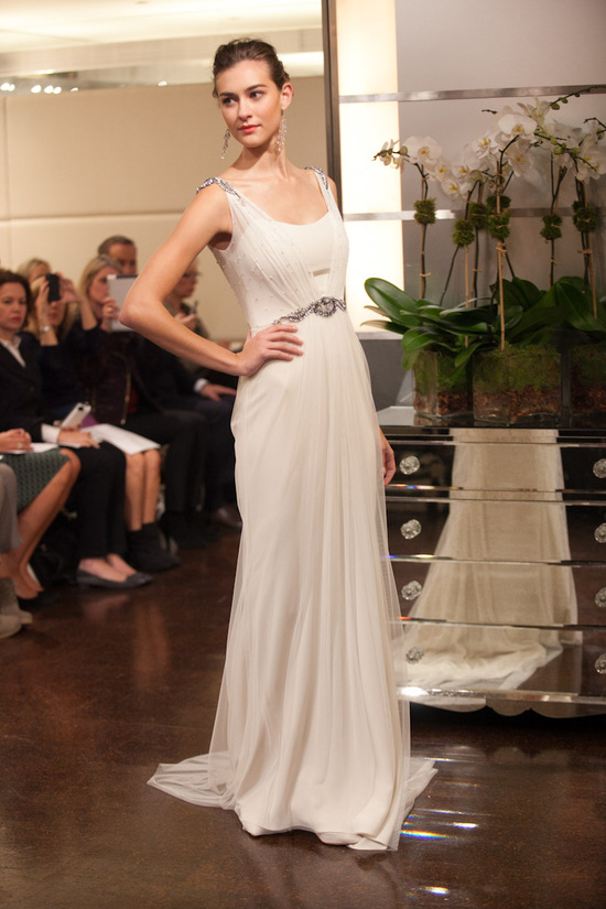 Fall 2013 wedding dress Badgley Mischka bridal gowns Virgo