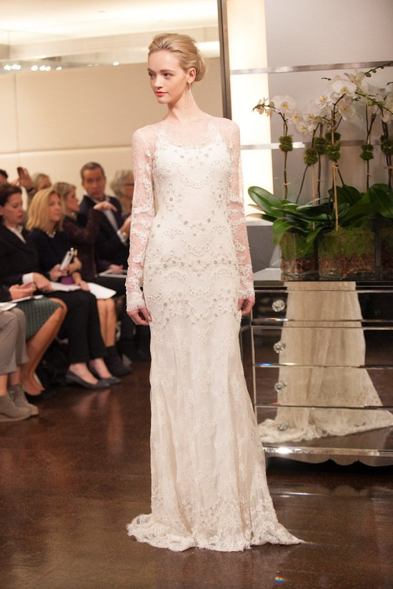 Fall 2013 wedding dress Badgley Mischka bridal gowns Heavenly