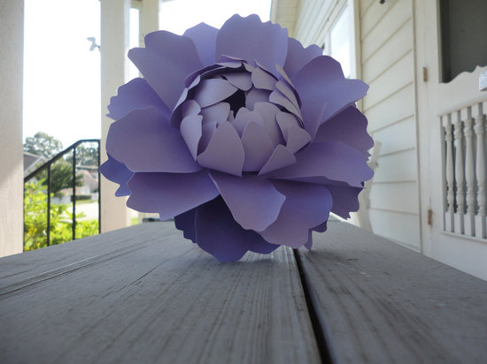 Recycled Paper Flowers For Your Wedding Ceremony Or Reception