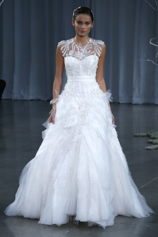 Fall 2013 wedding dress Monique Lhuillier bridal gowns Versailles
