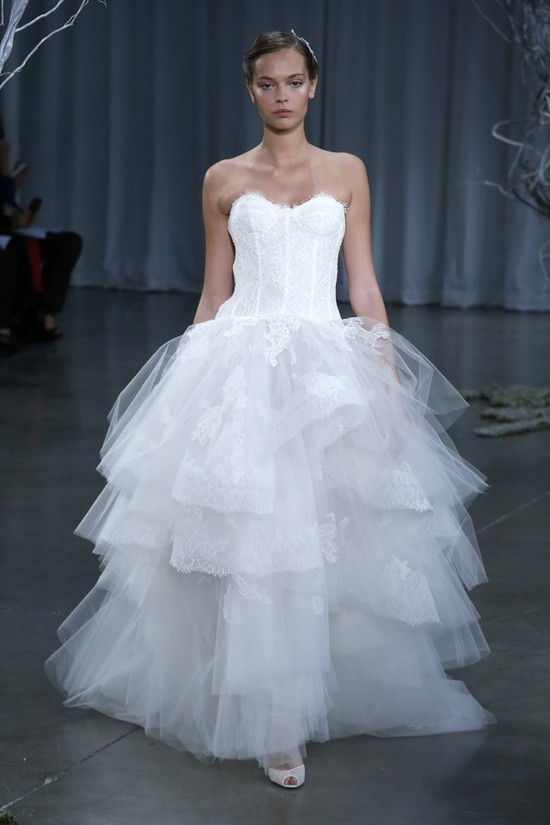 Fall 2013 wedding dress Monique Lhuillier bridal gowns Rapture