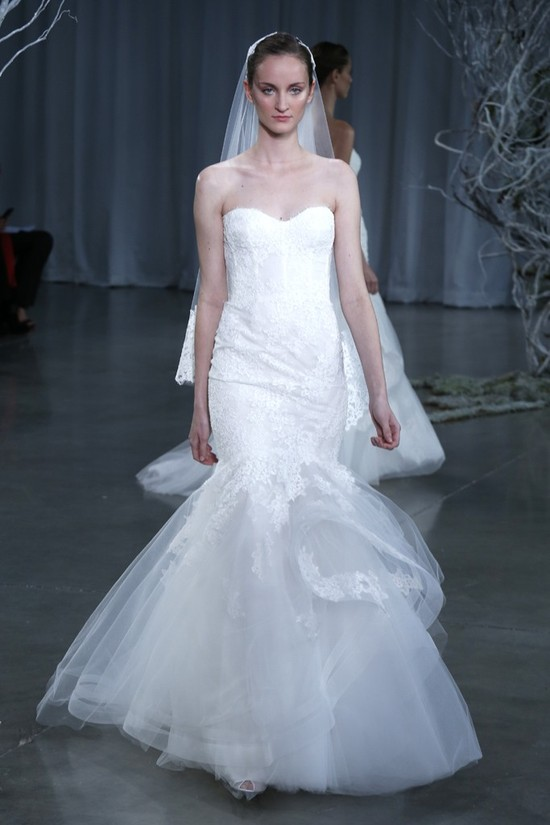 Fall 2013 wedding dress Monique Lhuillier bridal gowns Sonnet