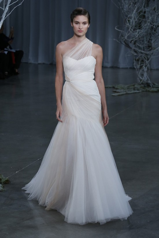Fall 2013 wedding dress Monique Lhuillier bridal gowns Wanderlust