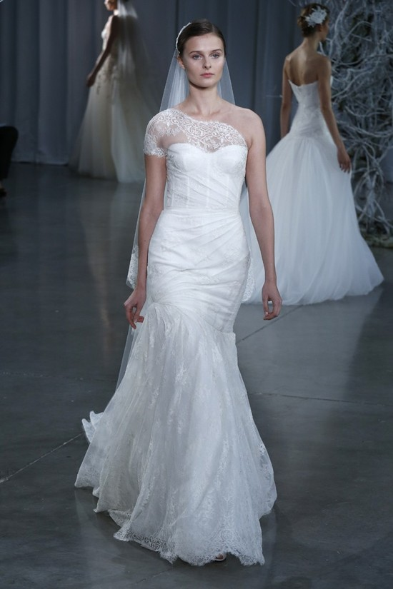 Fall 2013 wedding dress Monique Lhuillier bridal gowns Degas