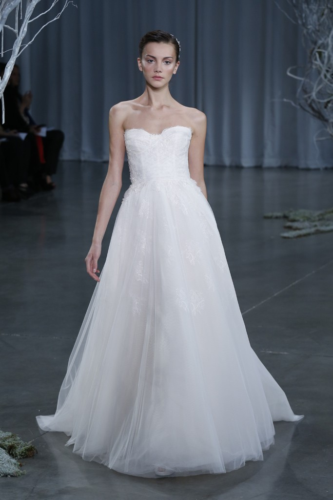 Fall 2013 wedding dress Monique Lhuillier bridal gowns Darling