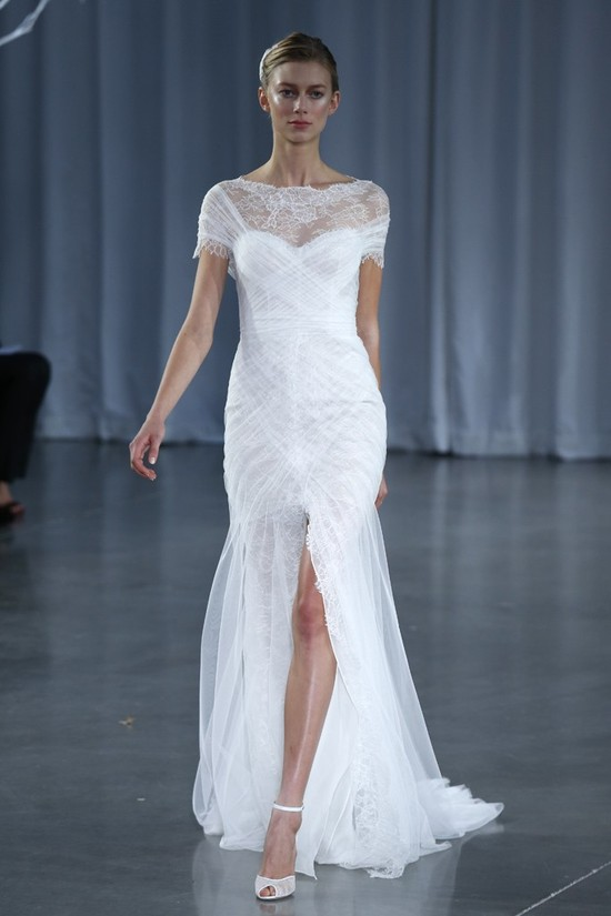Fall 2013 wedding dress Monique Lhuillier bridal gowns Delilah