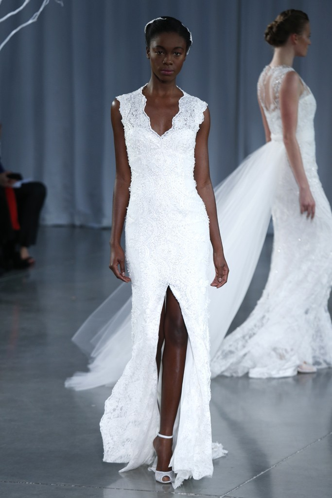 Fall 2013 wedding dress Monique Lhuillier bridal gowns Keira