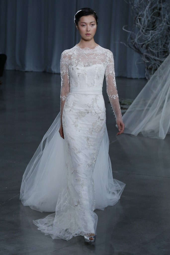 Fall 2013 wedding dress Monique Lhuillier bridal gowns Serendipity