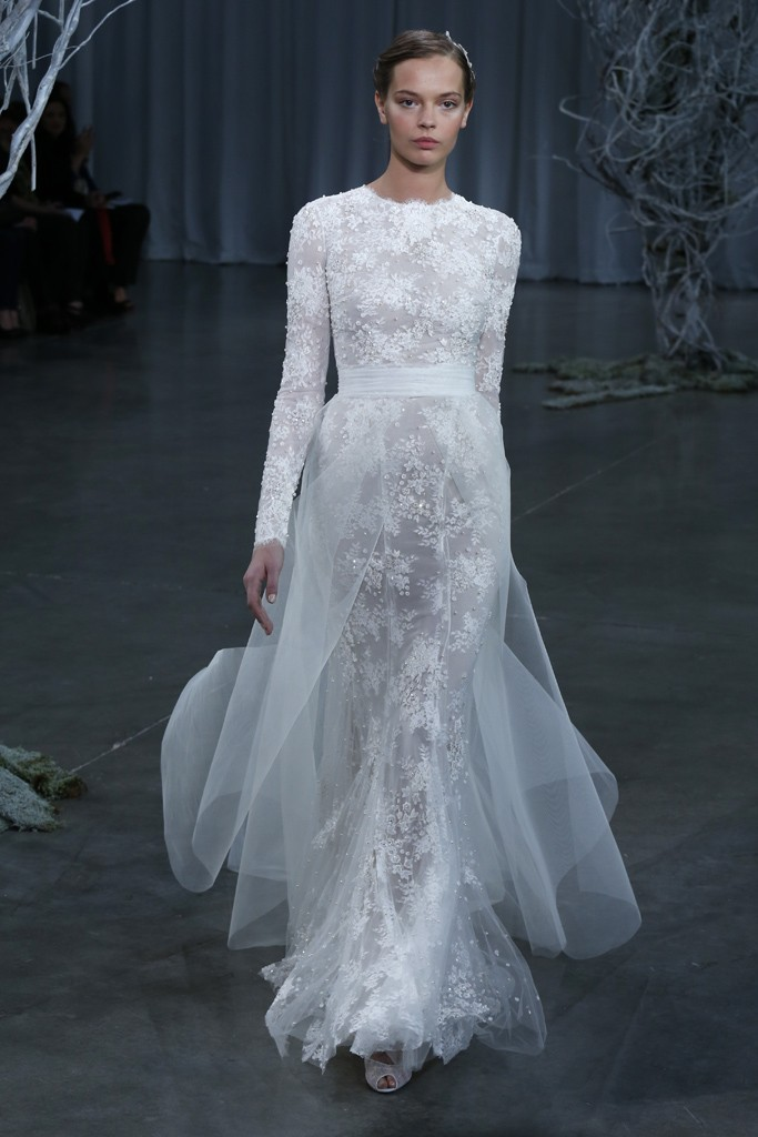 Fall 2013 wedding dress Monique Lhuillier bridal gowns Candice