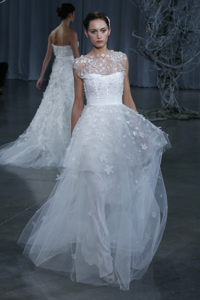 Fall 2013 wedding dress Monique Lhuillier bridal gowns Madeline