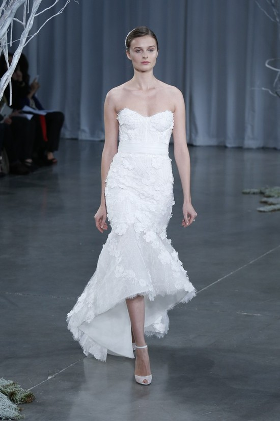 Fall 2013 wedding dress Monique Lhuillier bridal gowns Magnolia