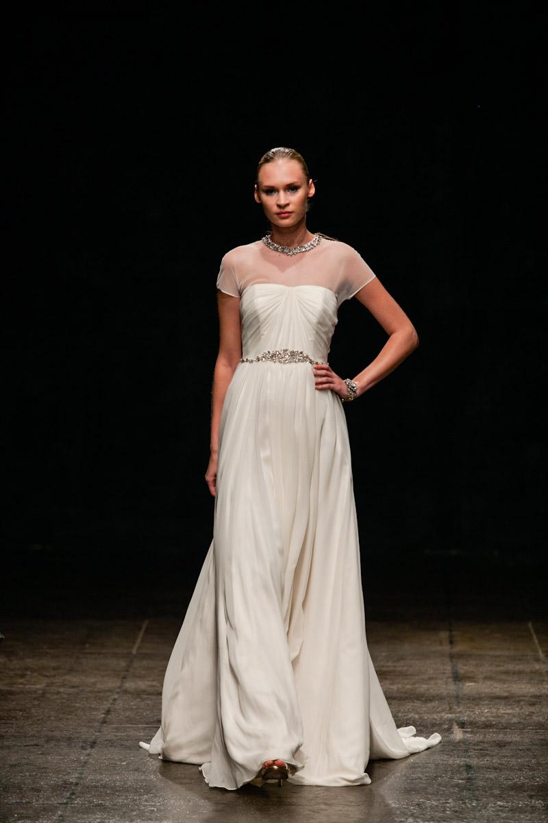 Fall 2013 wedding dress hayley paige bridal gowns style for Hayley paige wedding dresses