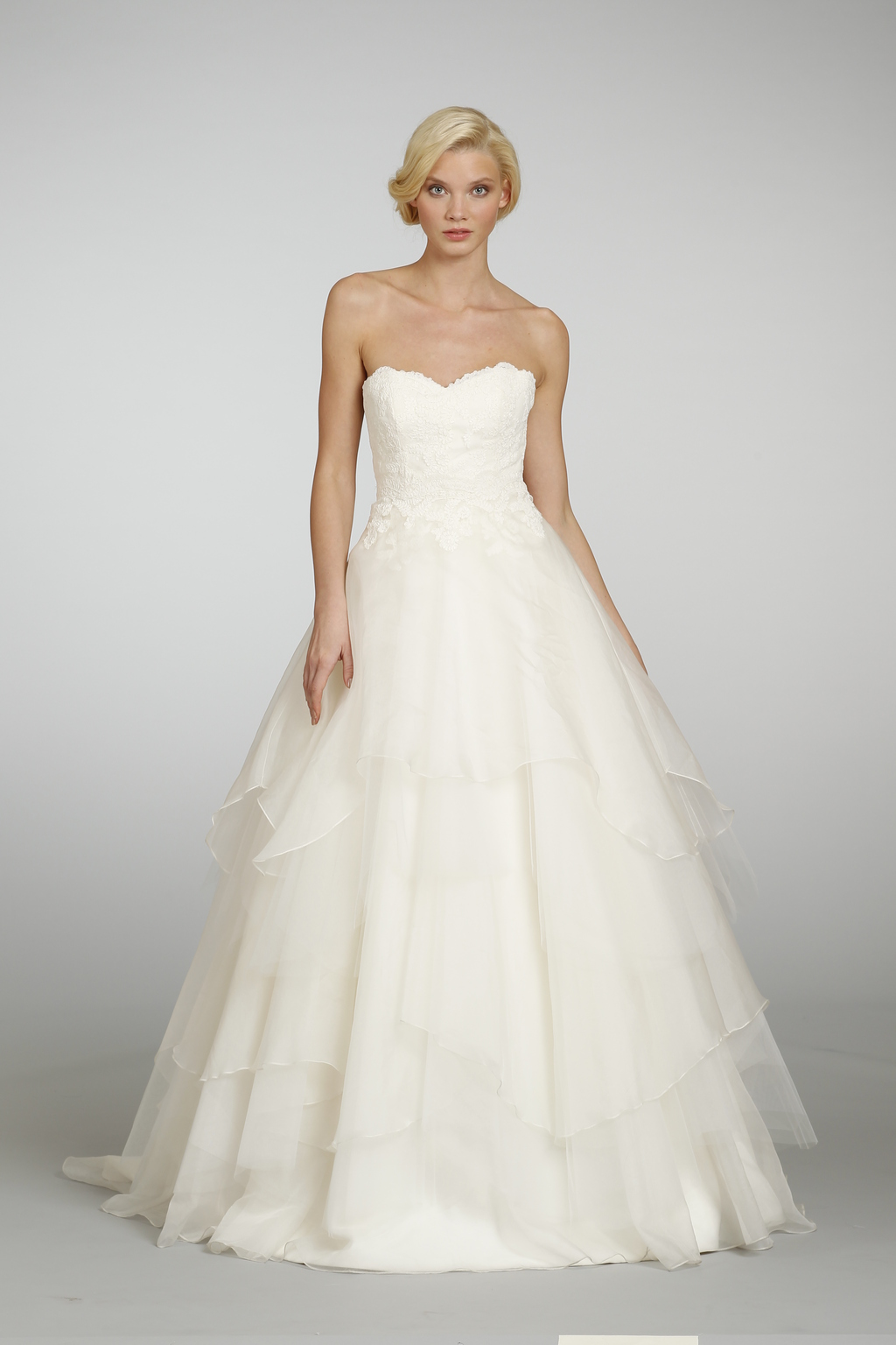 Spring 2013 wedding dress hayley paige bridal gowns 6309 d for Hayley paige wedding dress
