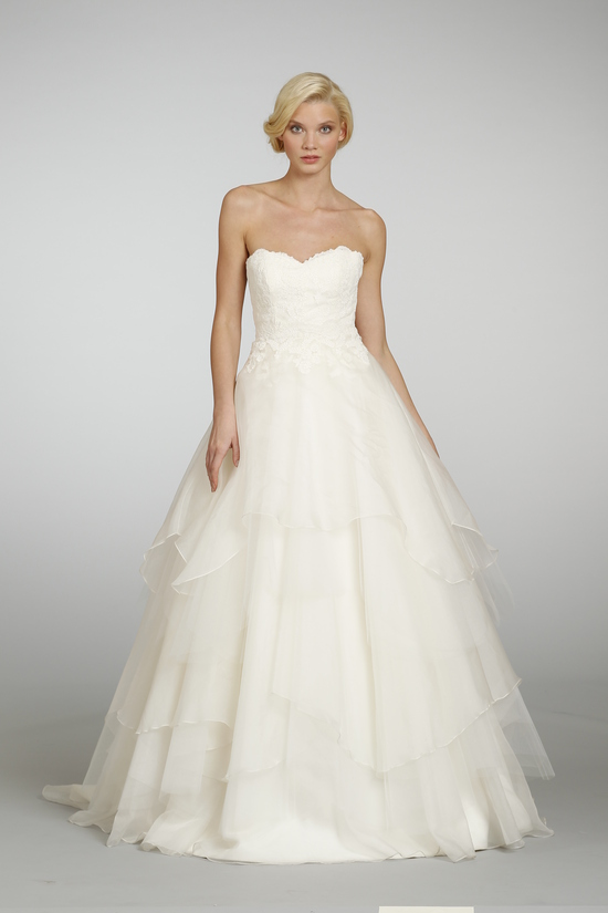 Spring 2013 Wedding Dress Hayley Paige bridal gowns 6309 d