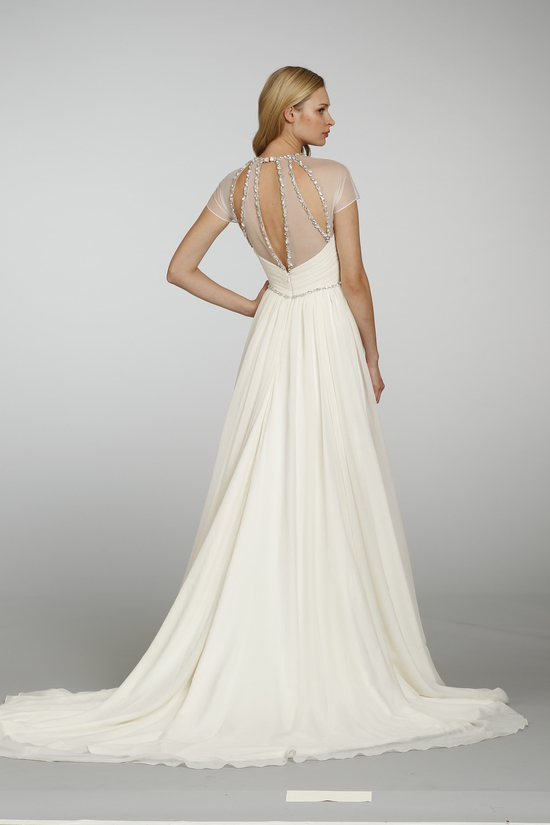 photo of Spring 2013 Wedding Dress Hayley Paige bridal gowns 6300 b