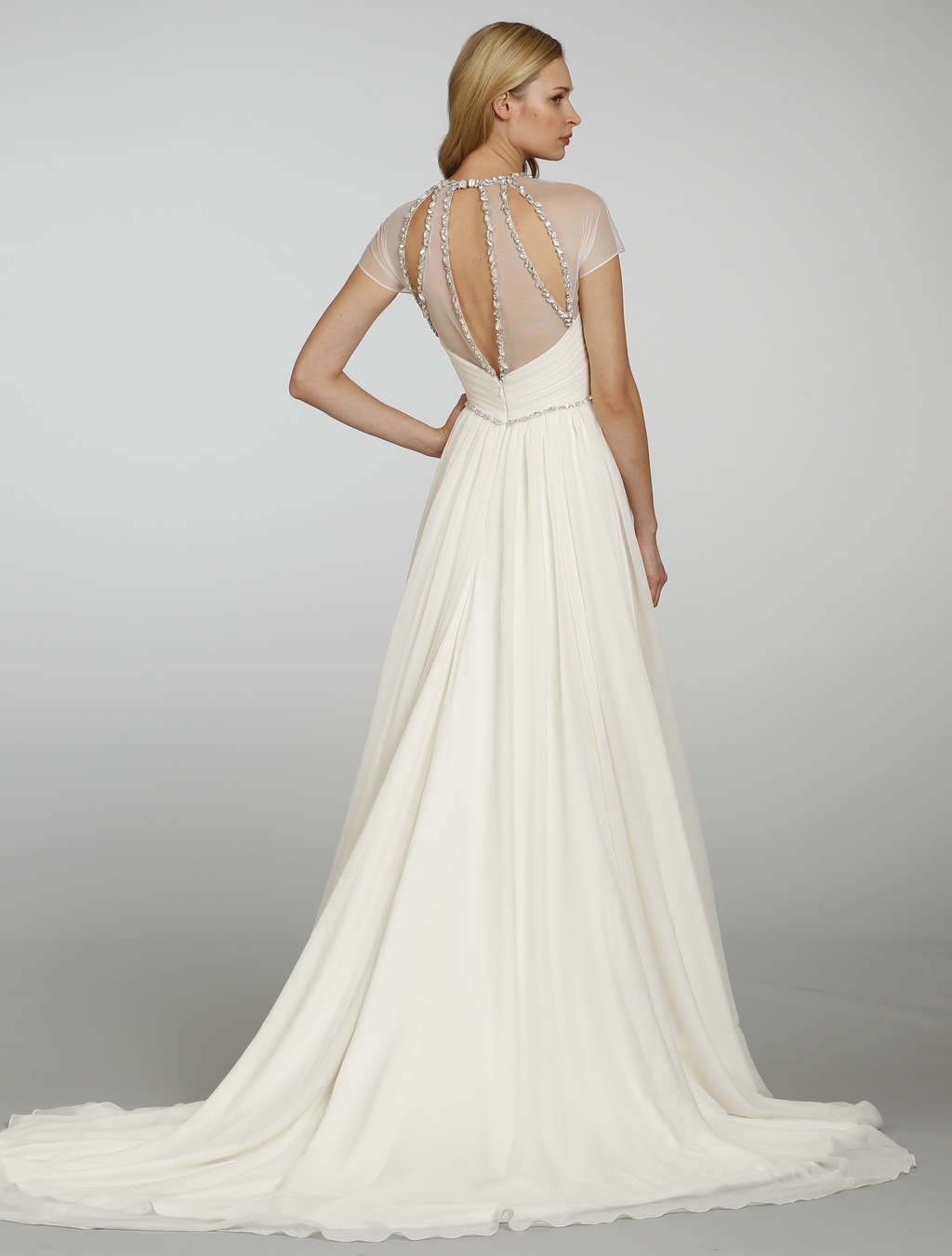 Spring 2013 wedding dress hayley paige bridal gowns 6300 b for Hayley paige wedding dress
