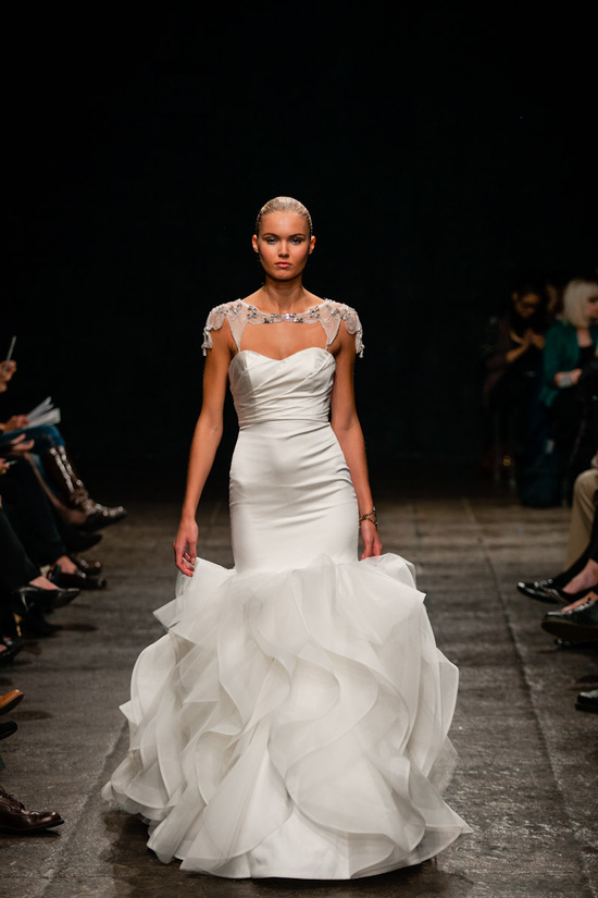 new wedding dresses JLM couture Spring 2013 bridal Hayley Paige 6302 Dre 2