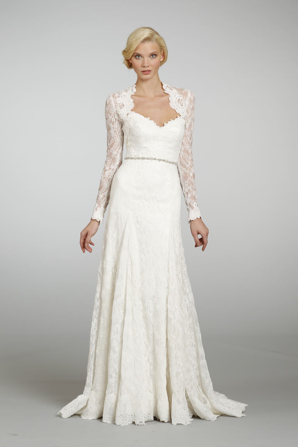 Spring 2013 wedding dress hayley paige bridal gowns 6305 for Hayley paige wedding dress