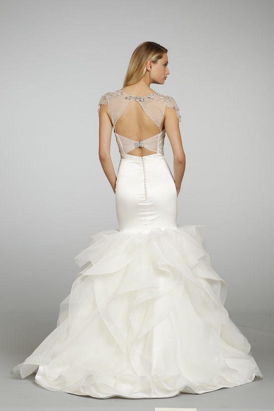Spring 2013 Wedding Dress Hayley Paige bridal gowns 6302 d