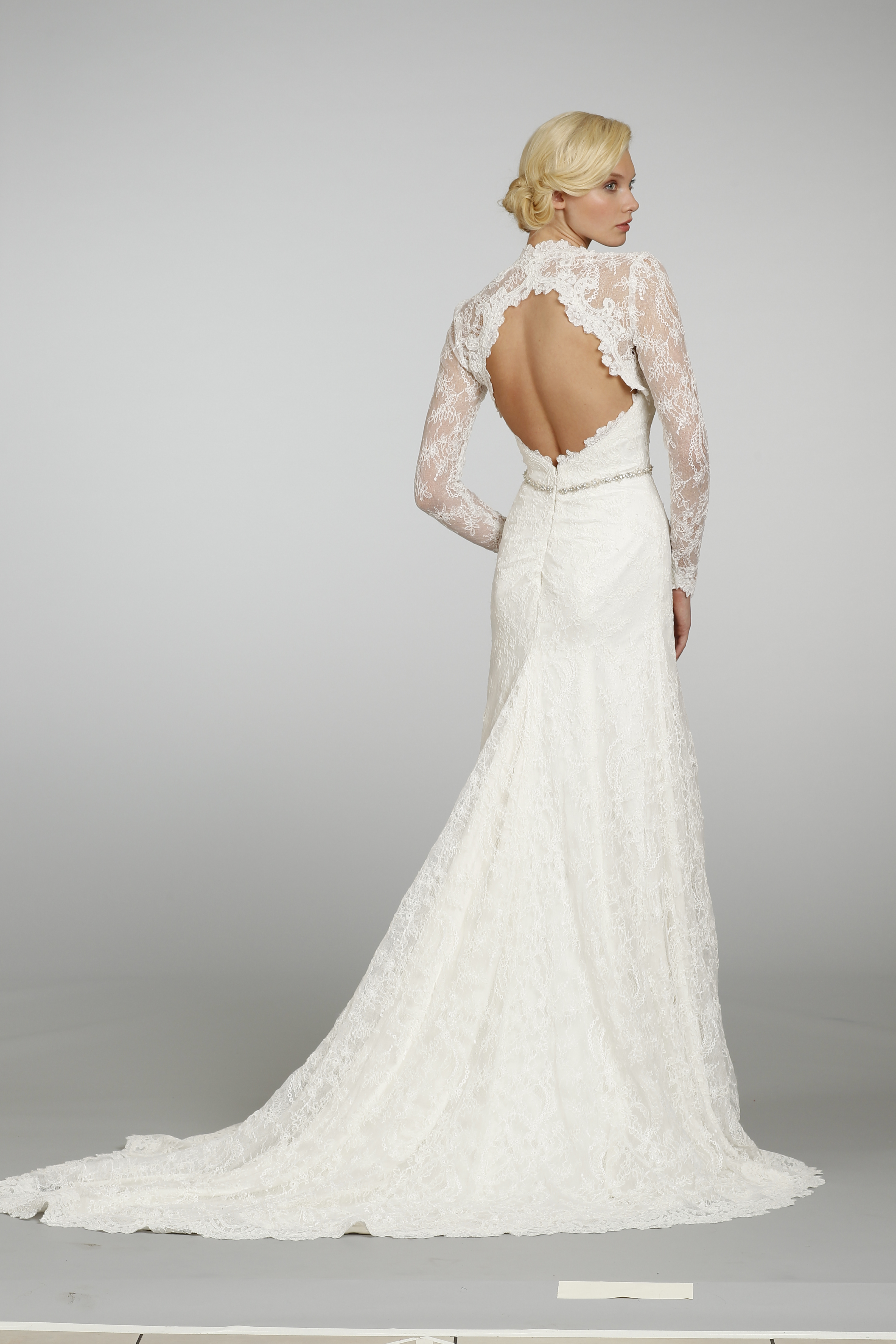 Spring 2013 wedding dress hayley paige bridal gowns 6305 for Hayley paige wedding dresses