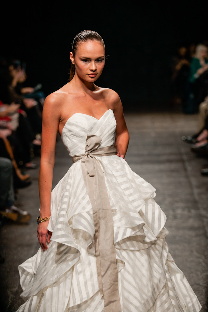 photo of Sheer Bridal Goodness from Hayley Paige, Spring '13