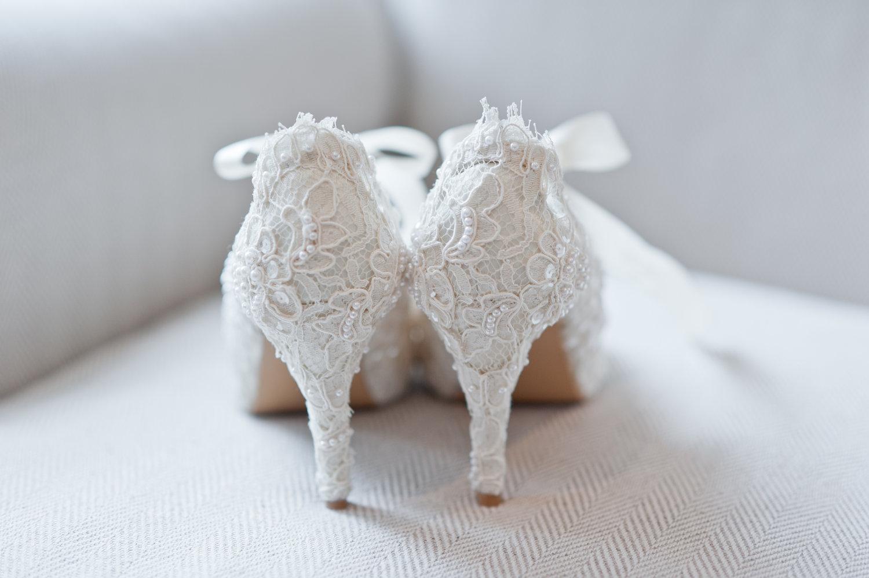Ivory Lace Wedding Shoes Canada