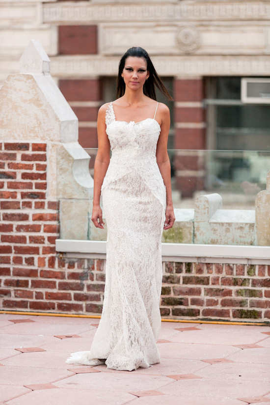 Fall 2013 wedding dress Anne Bowen bridal gowns Vespera