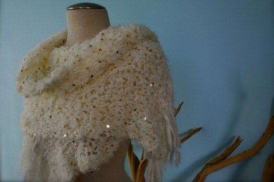 wedding accessories bridal style inspiration sequin pashmina