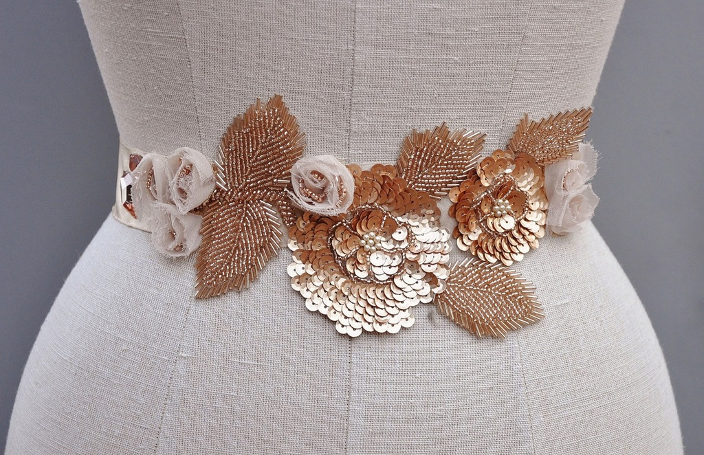 Wedding-accessories-bridal-style-inspiration-sequin-rose-gold-belt.full