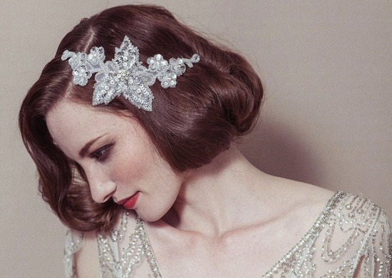 wedding accessories bridal style inspiration sequin silver headband