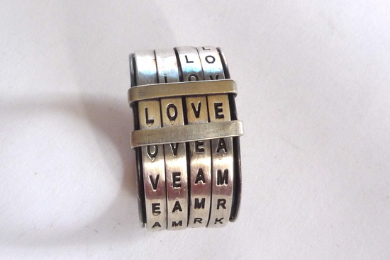 photo of Love Ring, $320 via The Fancy