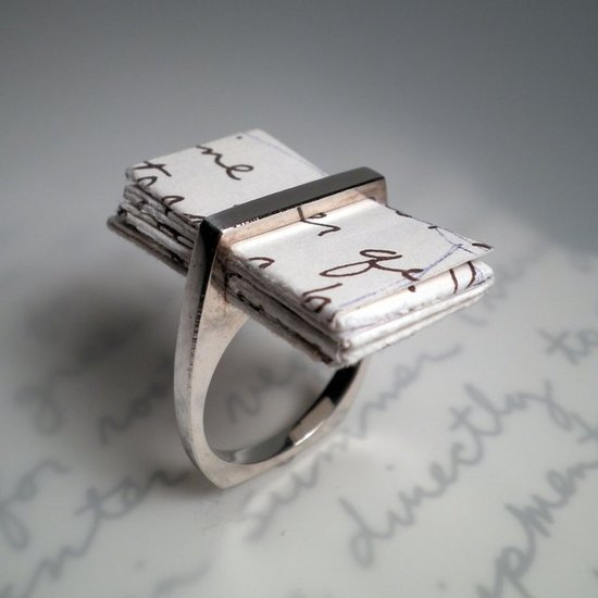 photo of I Thou Love Letter Ring, $200 via The Fancy