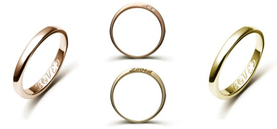 unique wedding rings meaningful gifts for bride or groom LOVED