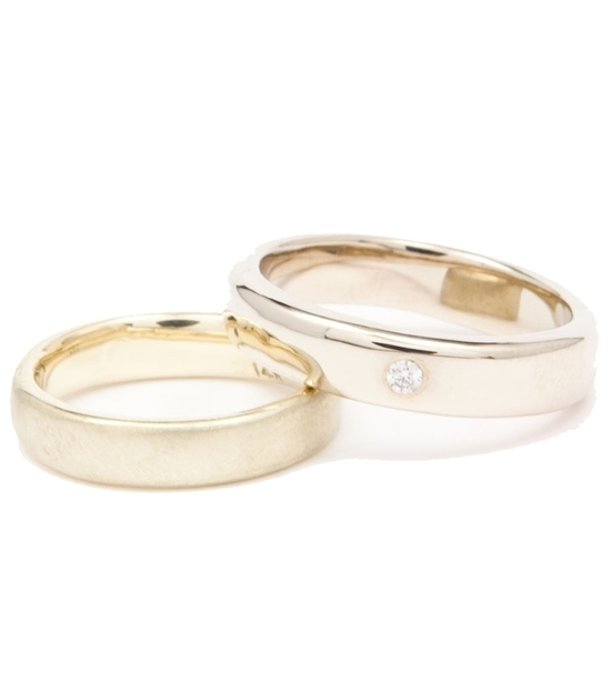 photo of The Wedding Band Hot List: 11 Unique, Covetable Rings for the Bride & Groom