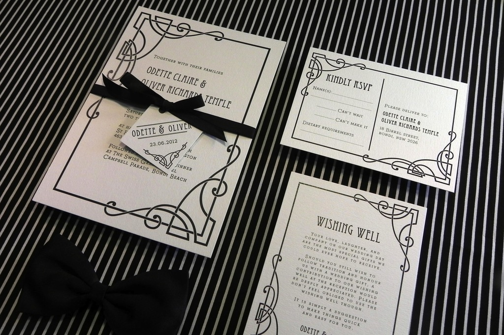 Diy Wedding Ideas For Budget Savvy Brides Black White Invite