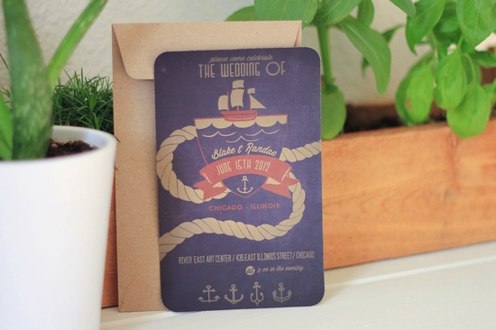 DIY wedding ideas for budget savvy brides nautical invite