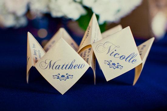 Cootie Catcher Wedding Invitation: Catcher On OneWed