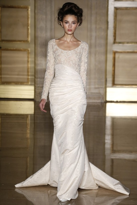 Fall 2013 wedding dress Douglas Hannant bridal gowns 1