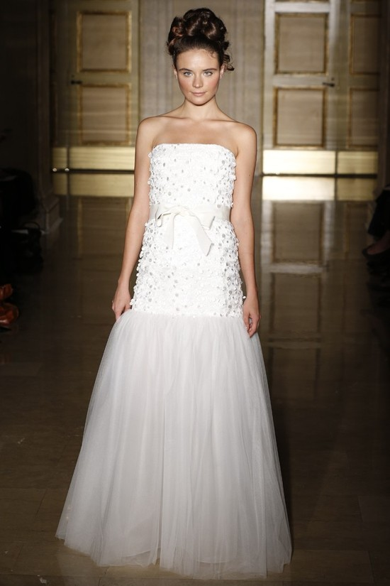 Fall 2013 wedding dress Douglas Hannant bridal gowns 2
