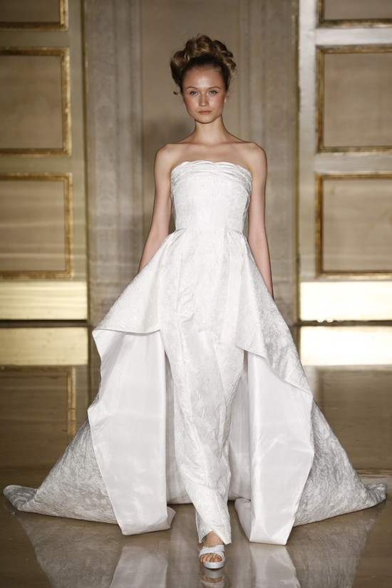 Fall 2013 wedding dress Douglas Hannant bridal gowns 3