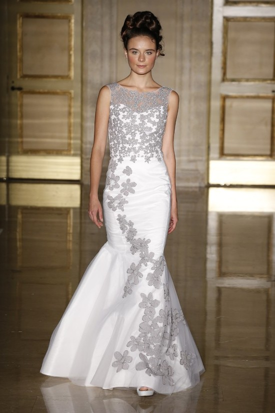photo of Fall 2013 wedding dress Douglas Hannant bridal gowns 8