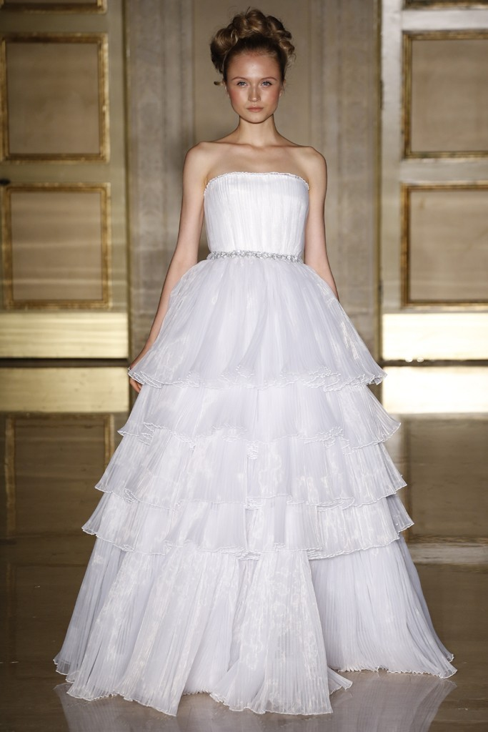 Fall 2013 wedding dress Douglas Hannant bridal gowns 9