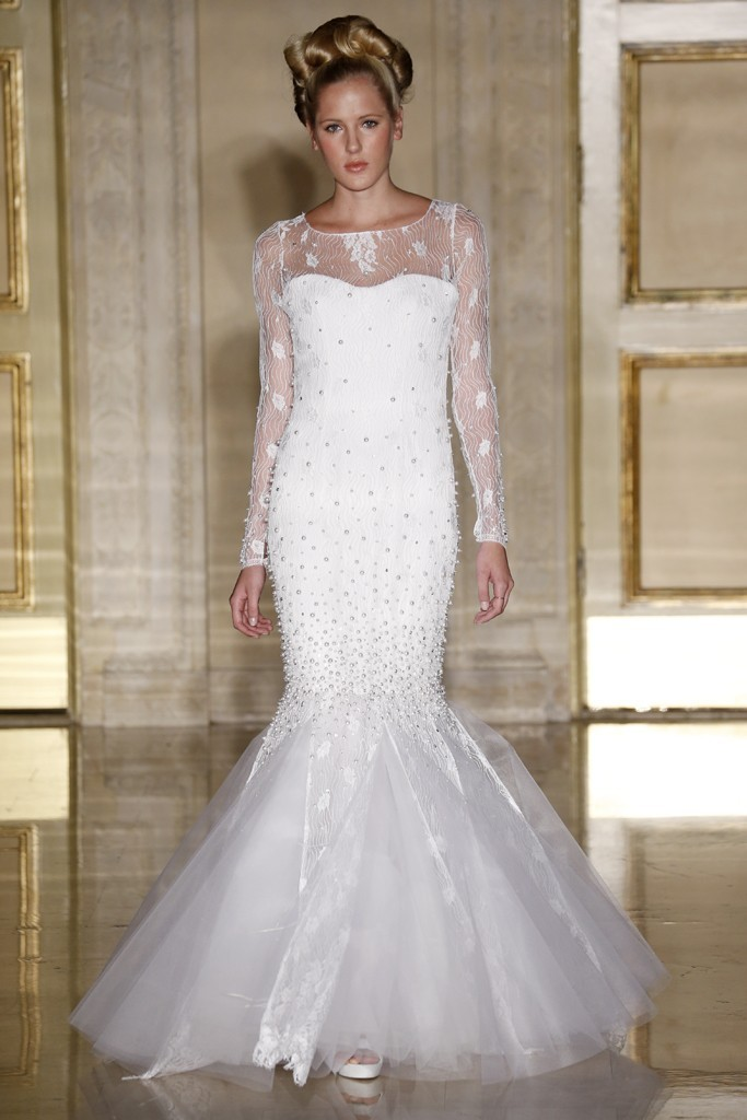 Fall 2013 wedding dress Douglas Hannant bridal gowns 10