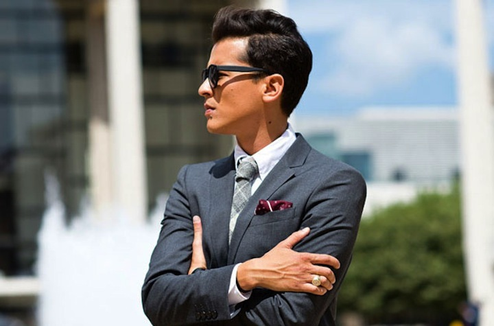 handsome hairstyles for grooms and the men in weddings 18