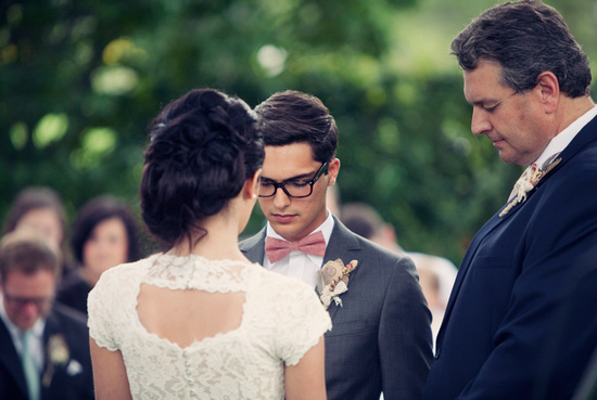 handsome hairstyles for grooms and the men in weddings outdoor vows
