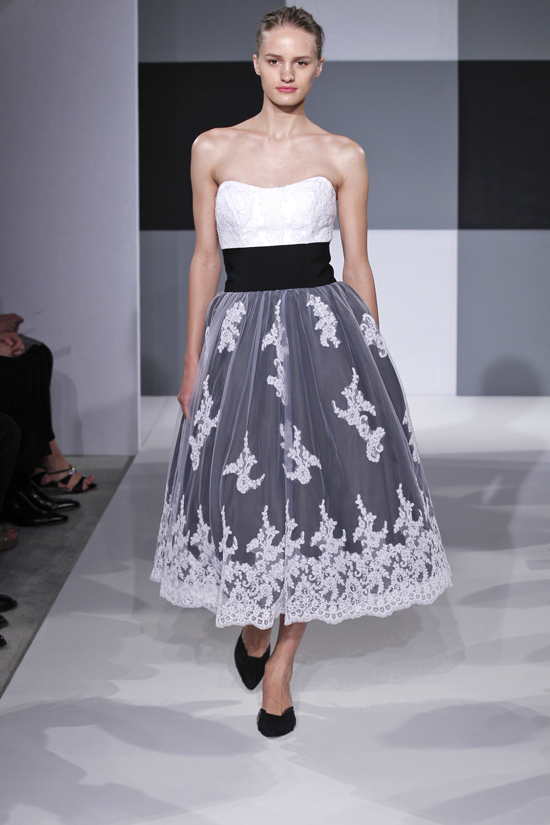 Spring 2013 wedding dress Isaac Mizrahi Spring 2013 bridal 2