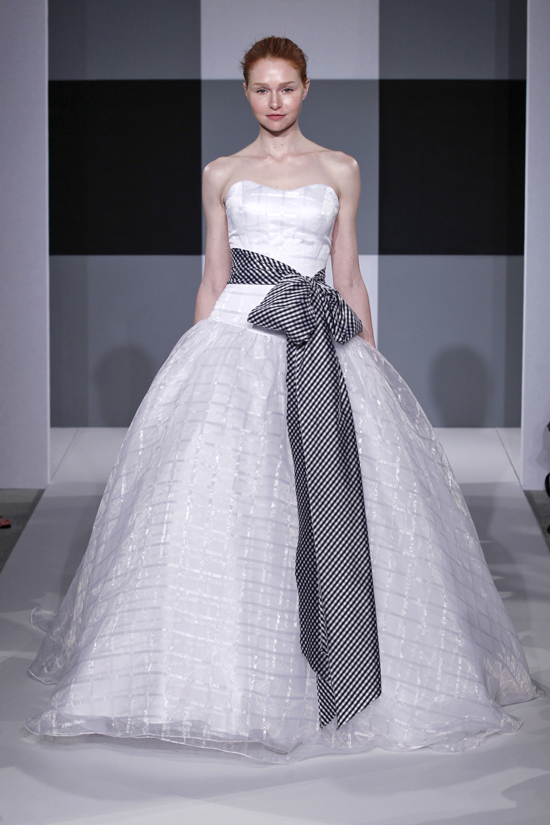 Spring 2013 wedding dress Isaac Mizrahi Spring 2013 bridal 3