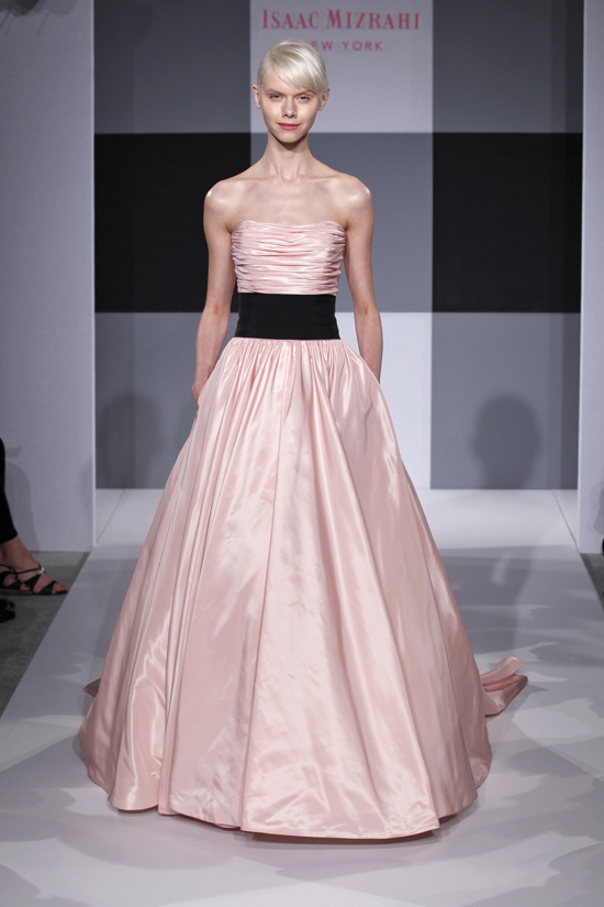 Spring 2013 wedding dress Isaac Mizrahi Spring 2013 bridal 12