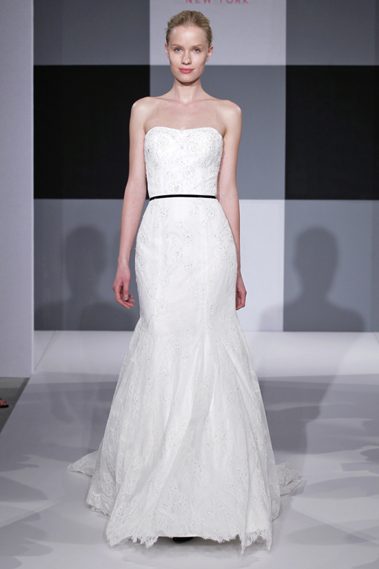 Spring 2013 wedding dress Isaac Mizrahi Spring 2013 bridal 5